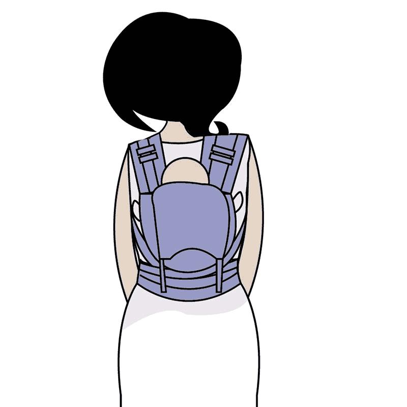 Portage sur le dos